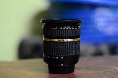 Tamron 10-24mm 3.5-4.5 nikon lens
