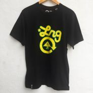 Size M LRG Tshirt in Black Pit 19