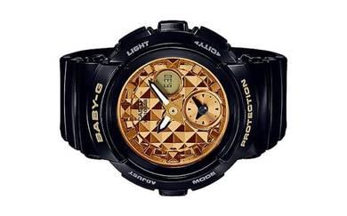 Casio Baby-G Striking Dial Black Watch BGA-195M-1A