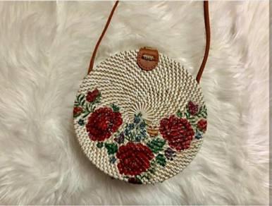 Original rottan bag for bali