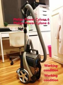 Philips vacuum Power Cyclone 6 working condition
