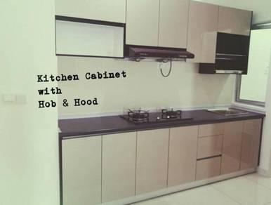 Nice Unit With Kitchen Cabinet Savanna Bangi