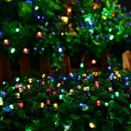 Solar Festive Light - 200 LED Multi Colour (1)