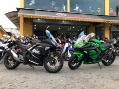 Kawasaki Ninja 250 On the road Price Loan Kedai