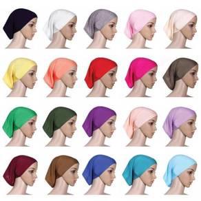 Muslim Hijab Headscarf Cylinder Cap Tudung