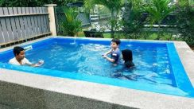 Inap Banglo homestay swimming Pool Kolam Renang