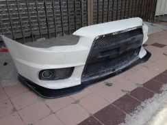 Lancer Evo X Front Lip Ralliart