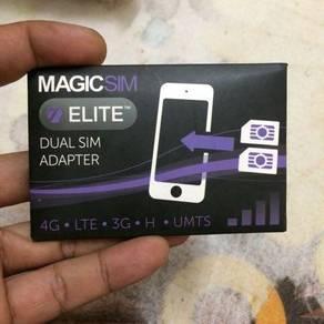 Magic sim(dual sim adapter) for iphone