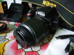 Nikon D3200 Complete Set with Battery Grip