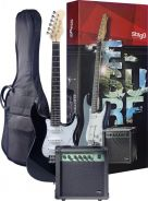 STAGG Surfstar Electric Guitar + Amplifier Package