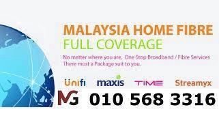Penang Unifi Maxis Time Fibre internet wifi modem