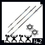 Barbell Straight Curl Pole Dumbbell Bar