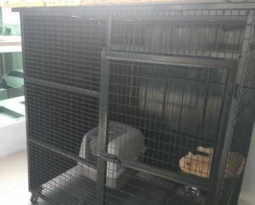 Sangkar Kucing / Cat Cage Steel / Besi