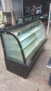 Used display cake chiller 8ft