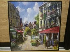 Town Landscape Printing Painting