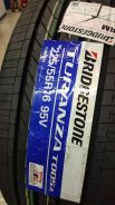 Bridgestone Turanza T005A 225-55-16 225/55/16