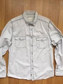 COTTON ON denim shirt long sleeve L slimfit