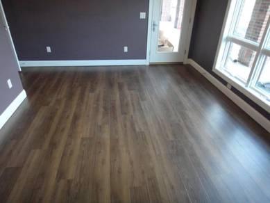 Vinyl Floor Lantai Timber Laminate PVC Floor Q314