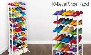 Tg - Adjustable shoe rack 10 tier