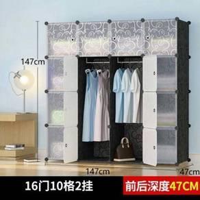 Wardrobe 16 door