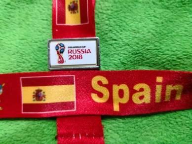 Tali Tag Piala Dunia 2018 - SPAIN