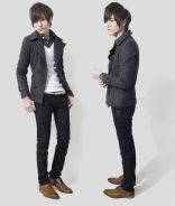 (363) Grey Winter Blazer Suit Man Coat Jacket