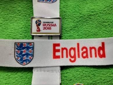 Tali Tag Piala Dunia 2018 - ENGLAND