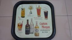 Captain Morgan Advertisement Tray