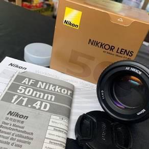 Nikon Nikkor 50mm f 1.4 D