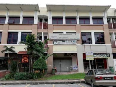Renovated Ground Floor Shop Lot at Wangsa Maju For Sale