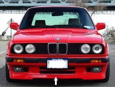 BMW E30 iS & Standard Front Lower Lip