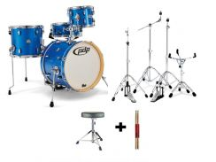 Pdp new york 4 pcs drum set with hardware