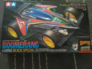 First Print 1996 TAMIYA BOOMERANG GAMMA BLACK SP
