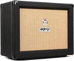 Orange PPC112 60-watt 1x12 Speaker Cabinet-BK