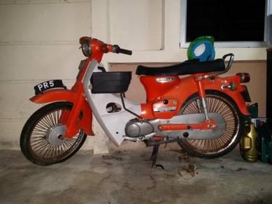 Honda cub c70 gear belakang