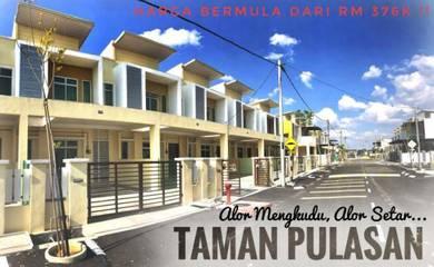 FULL LOAN Booking Rm1000 Nice New Project Taman Pulasan, Alor Mengkudu