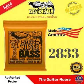 Ernie Ball EB2833 Hybrid Slinky Bass String,45-105