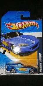 Hotwheels Honda S2000 Blue AEM