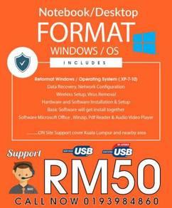 Reformat Your Windows OS Bootable Usb Windows