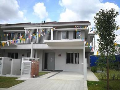 Corner Lot Double Storey Terrace Freehold Salak Perdana