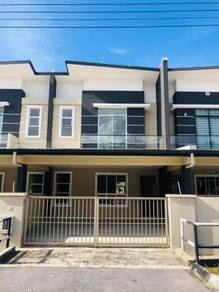 Moyan,Taman Green Acres,New Double storey intermediate terrace