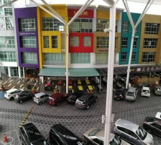 New 2nd Floor/Level 3 Icom Square Shop Lot Unit