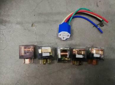 Power relay 87a 12V 24V Ceramic socket