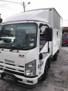 2015 ISUZU NLR55 Box Service by Isuzu LOW MILEAGE
