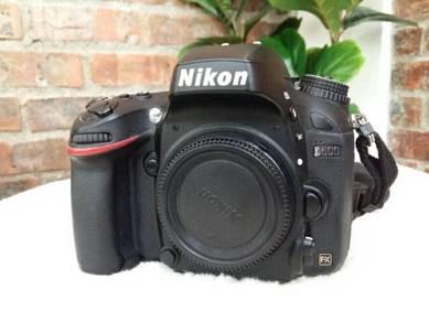 Nikon D600 Sekali Lens
