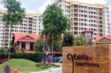 Cyberia Smarthomes 950sf 3r2b Cyberjaya Near MMU 100%LOAN nice RENO
