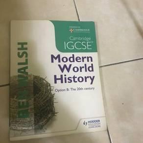 Cambridge IGCSE Modern World History coursebook