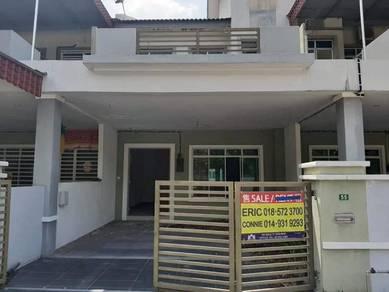 Low Price freehold double storey Klebang Ria