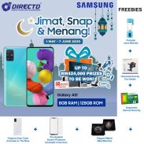 SAMSUNG Galaxy A51 (8GB RAM/128GB)MYset + 6 HADIAH