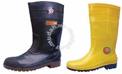 WP Lin PVC Boot Korakoh 15In Yelow 8000MSTCY ST SP